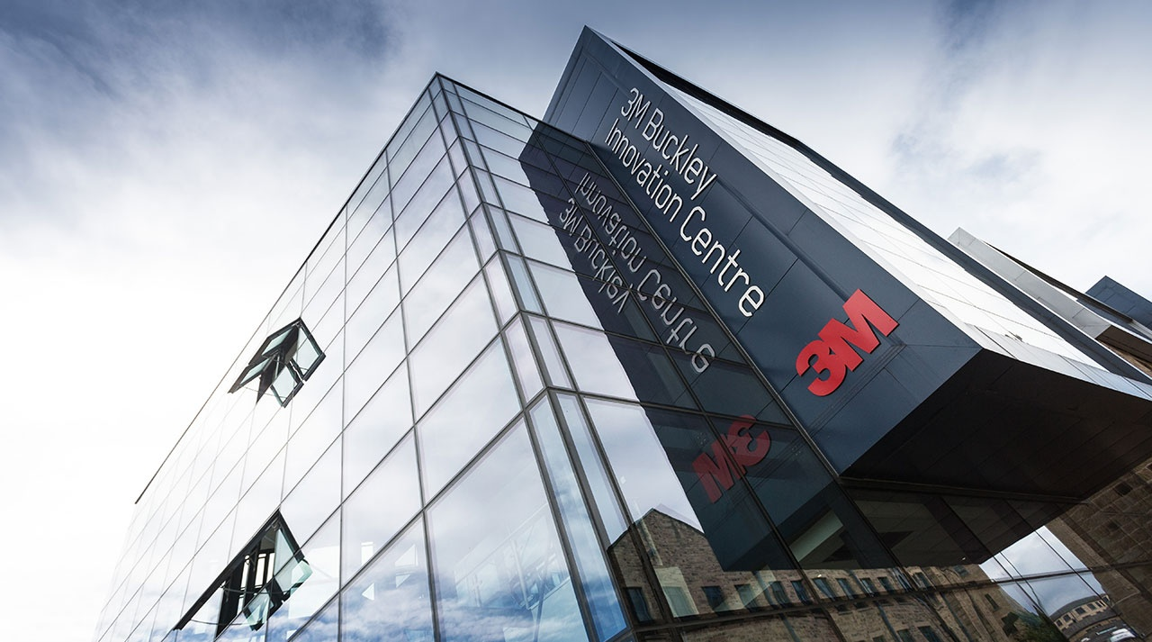Das 3M Buckley Innovation Center an der Universität von Huddersfield