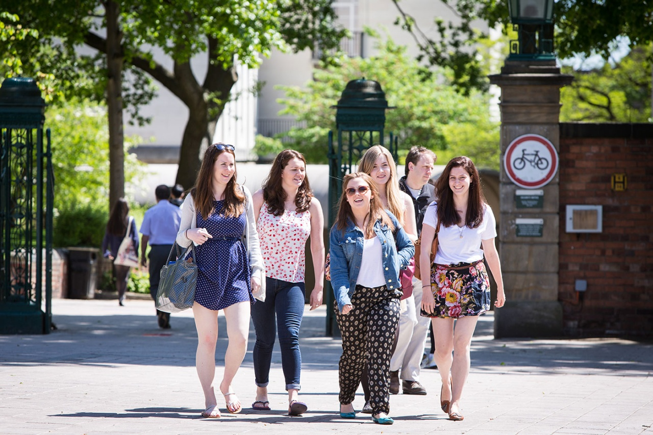 Students at The University of Leeds