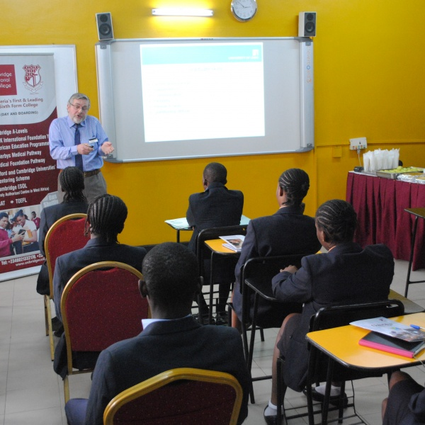 NCUK tours study centres in Nigeria
