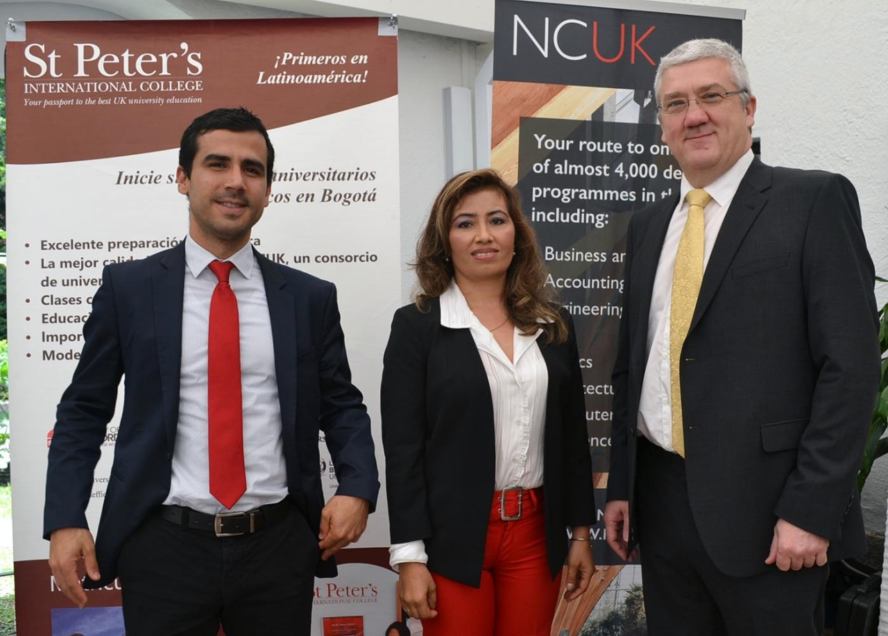 Dr John Willott with NCUK alumni