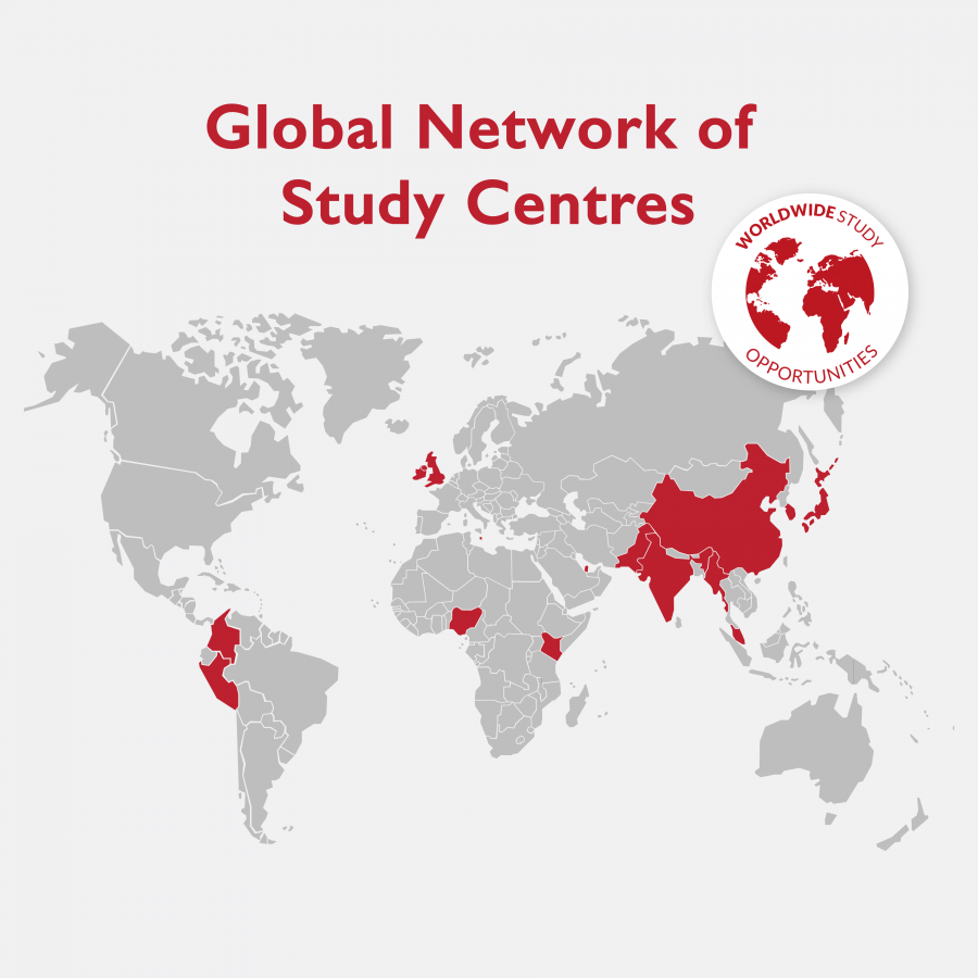 global network of study centres