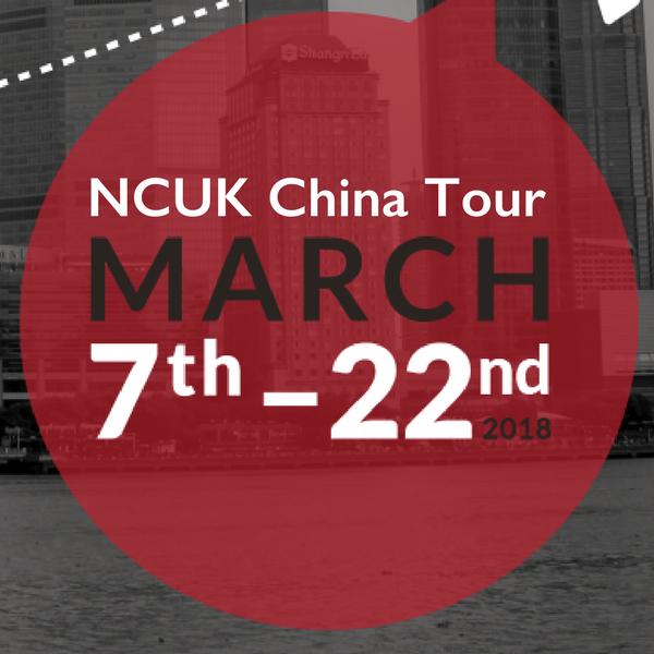 NCUK China Tour March 2018