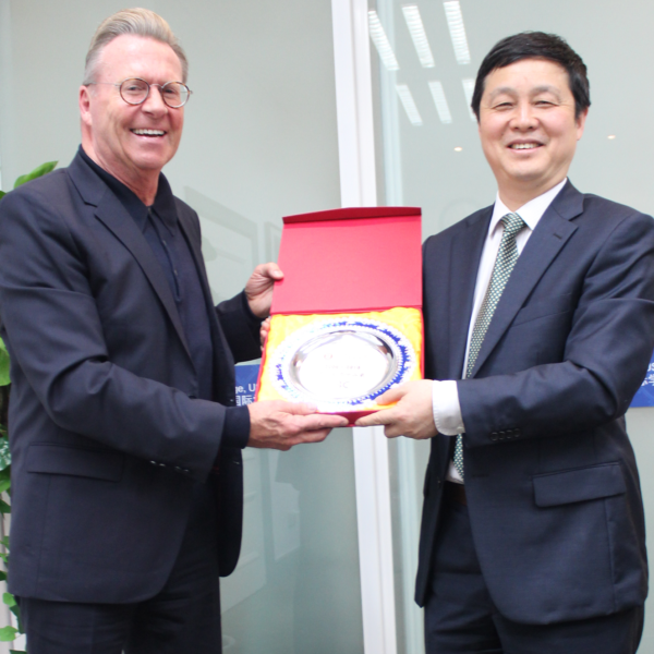 NCUK CEO Welcomes the New President of University of Shanghai for Science and Technology
