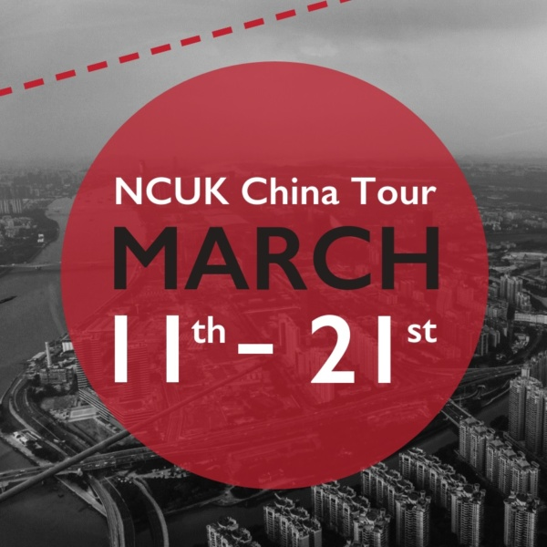 NCUK China Tour March 2019