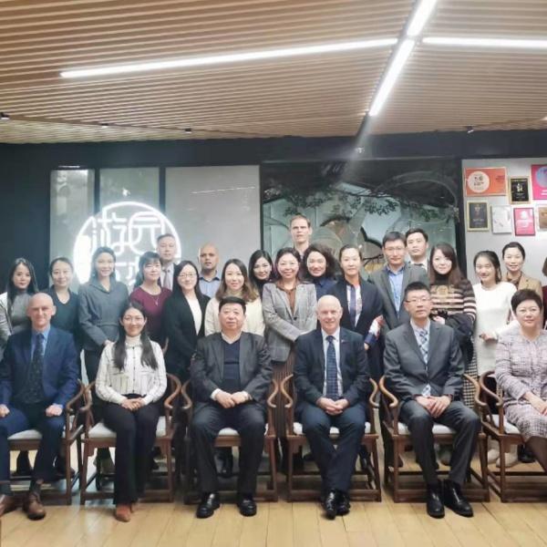 Professor John Brewer visits China