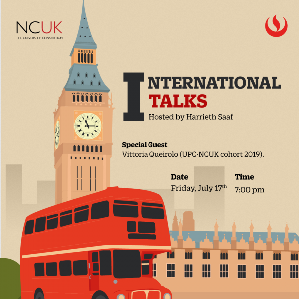 Q&A session with NCUK and UPC's alumnus!