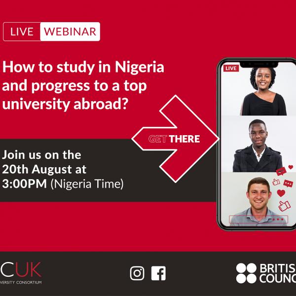 NCUK and British Council Nigeria webinar