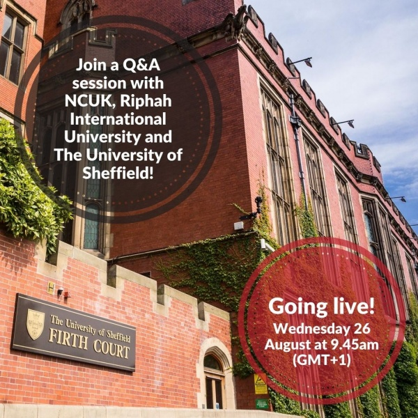 Q&A with Riphah International University and The University of Sheffield